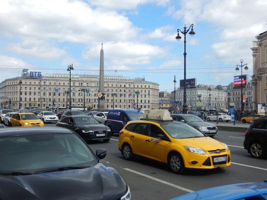Platz des Aufstandes am Moskauer Bahnhof  sk