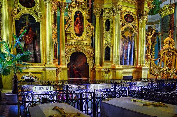 Peter Paul Kathedrale auf der Festung