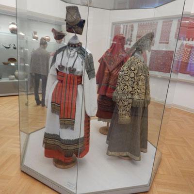 Kostüme im Russischen Museum