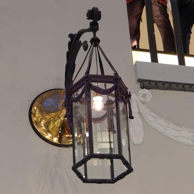 Lampe im Kaufhaus DLT