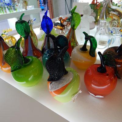 Angebot an Glaswaren