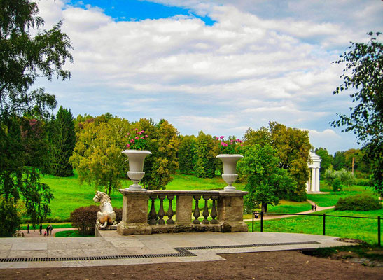 Park in Pawlowsk