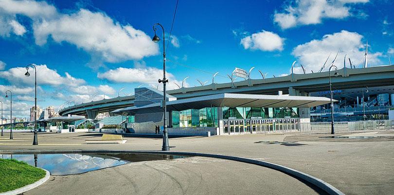 Metrostation Zenit Stadion