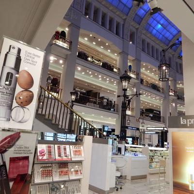 Innenbereich Kaufhaus DLT in Sankt Petersburg
