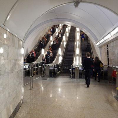Aufzug in der Metro