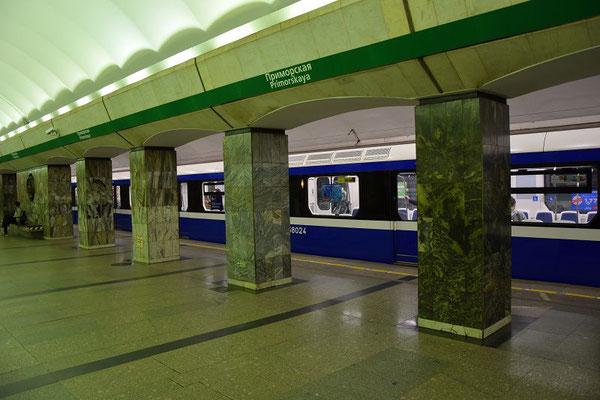 Metrostation unten