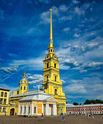 Kathedrale der Peter Paul Festung