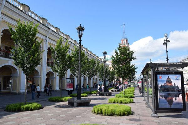Kaufhaus Gostiny Dwor bei einem Landausflug St. Petersburg
