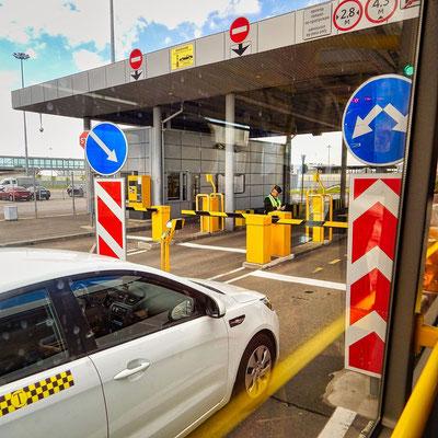 Einfahrtsbereich in den Passagierschiffhafen - auch Kreuzfahrterminal genannt