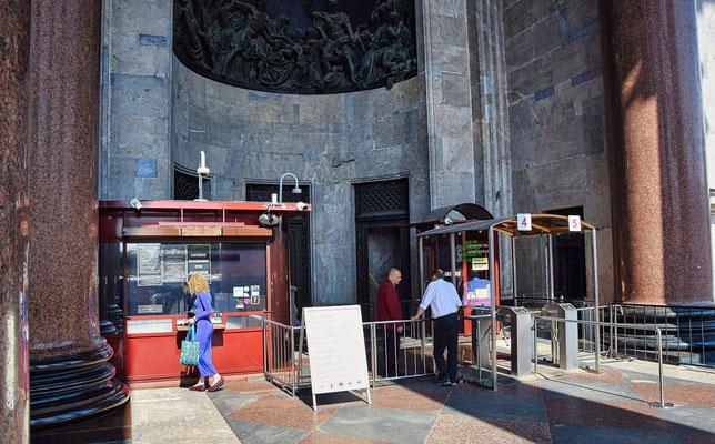 Eingang zur Aussichtsplattform