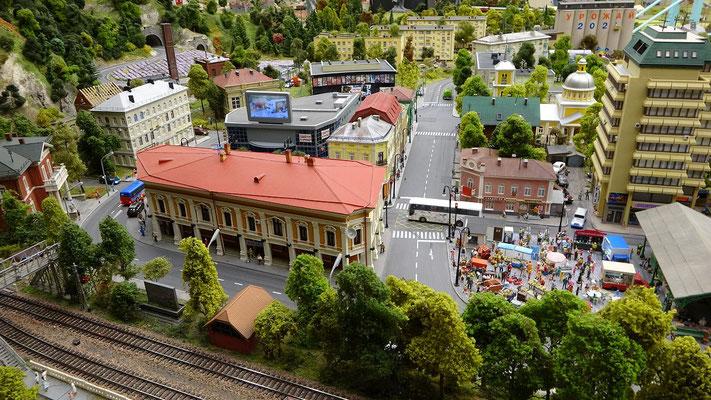 Model einer Stadt
