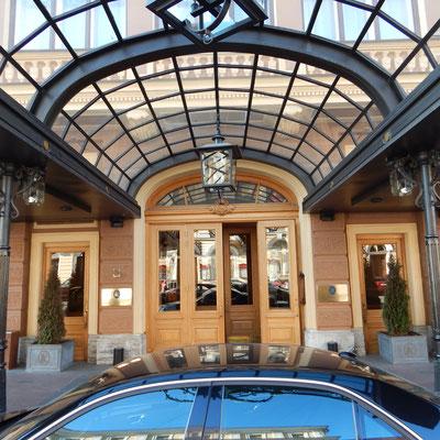 Belmond Grand Hotel Europa Eingang