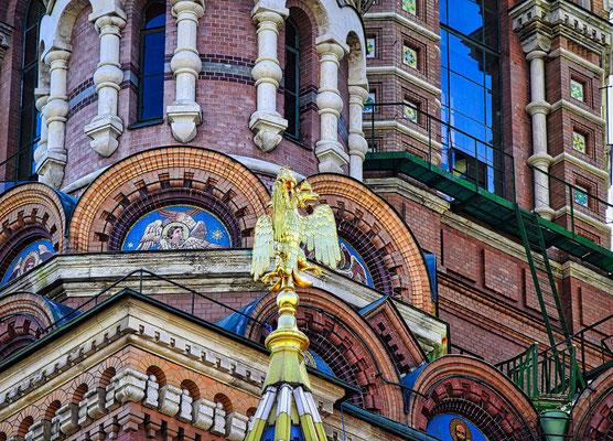 Blutkirche Detail mit Adler