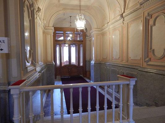 Der Eingangsbereich des Palastes