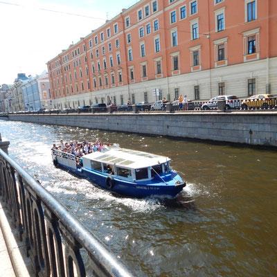 die Kanalfahrt