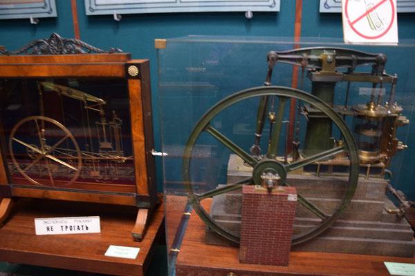 Technik im Eisenbahnmuseum