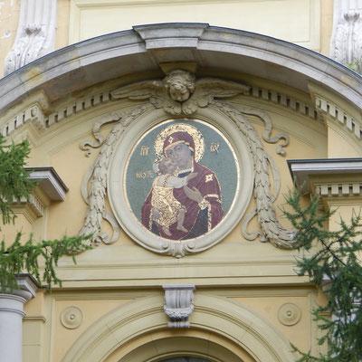 Bildnis auf der Kathedrale