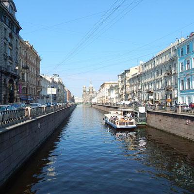 Wasserstaße der Kanal