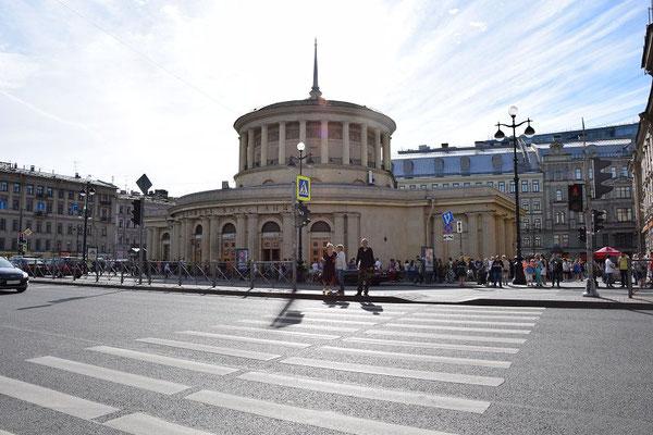 Metrostation Moskauer Bahnhof