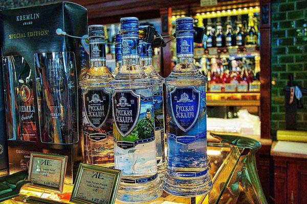 Wodka im Delikatessenladen