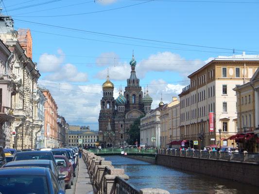 Gribojedew-Kanal und die Blutskirche  - Auferstehungskirche