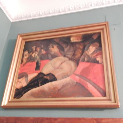 Bild im Schaljapinmuseum