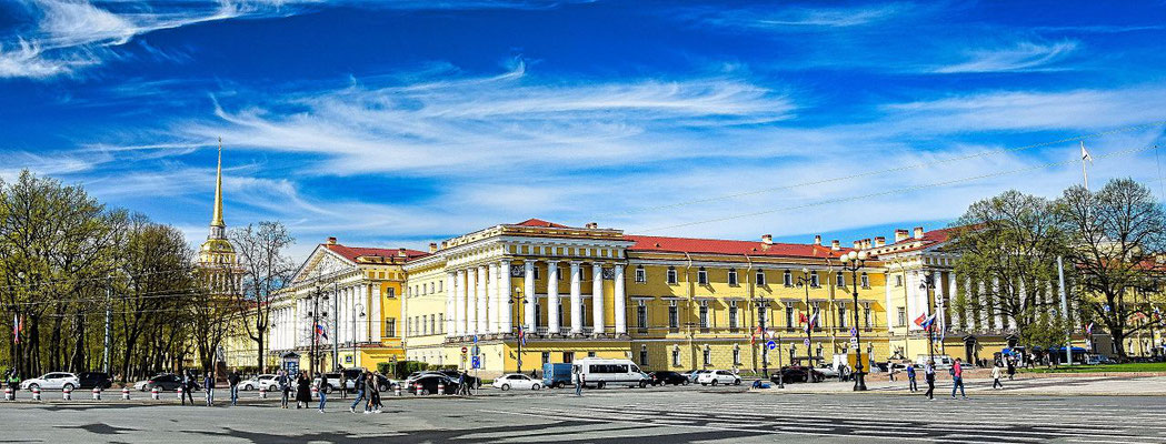 Admiralität die Sehenswürdigkeiten in St Petersburg