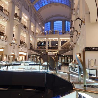 Kaufhaus DLT Innenansicht in Sankt Petersburg