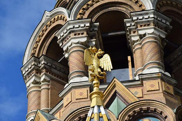 Adler an der Blutskirche
