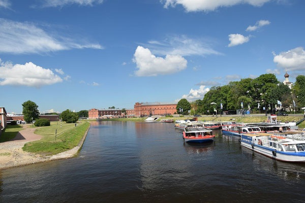 Kanal mit Artilleriemuseum