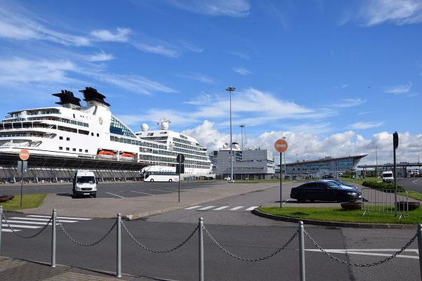 Der Hafen für Passagierschiffe in St. Petersburg