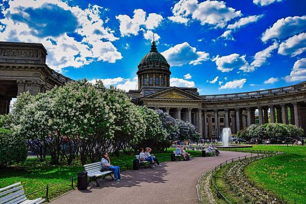 Kasaner Kathedrale in Sankt Petersburg