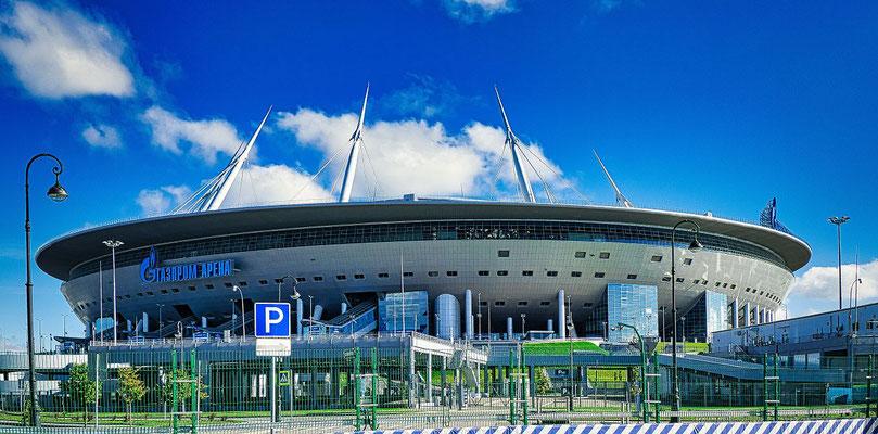 Zenit Stadion in St Petersburg