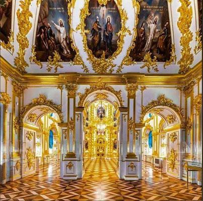 Raum hinter dem großen Palast
