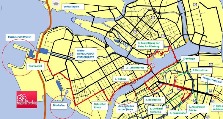 Kleingruppentour 1 Ausflug durch Sankt Petersburg