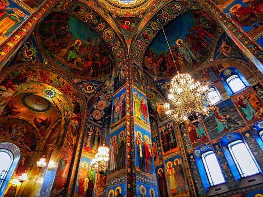 Bilder aus Mosaiken in der Auferstehungskirche