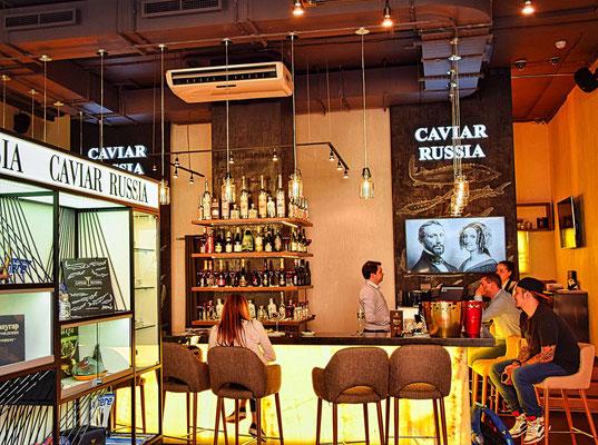 Caviarbar in Sankt Petersburg