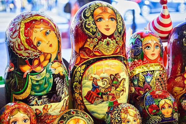 Matroschka aus St Petersburg