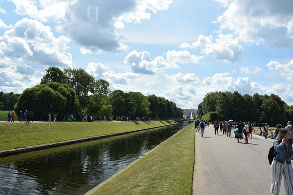Kanal zum Schloss