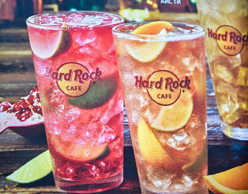Getränke Hard Rock Cafe