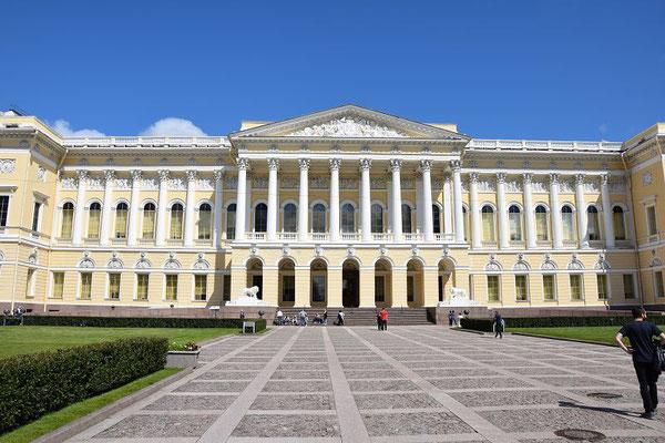 Haupteingang vom Russischen Museum
