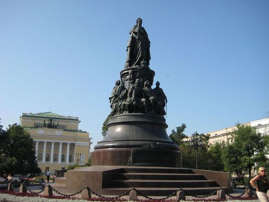 Denkmal an Katharina die Große
