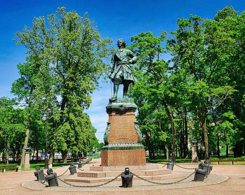 Peter der I. im Park