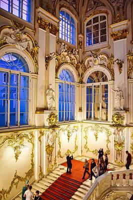Eingangsbereich der Eremitage St. Petersburg