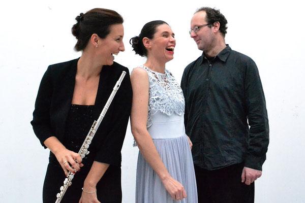 Trio Franziska Ritter/ Andrea Chudak/ Andreas Wenske (Querflöte+Sopran+Cembalo/Orgel) (Foto: privat)