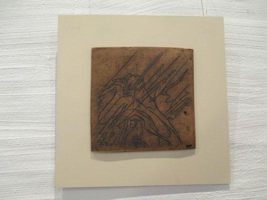 Gravur auf Keramik
