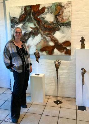 Gruppenausstellung April 2017, Aesch, Glatz Ursula, Bilder