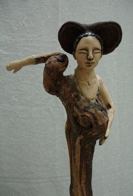Frauenfigur Keramik-Rebholz, verkauft