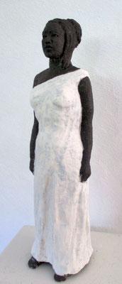 Keramik (schwarzer Ton mit Engobe)