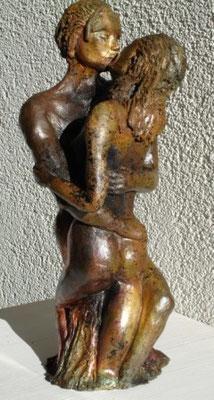 Der Kuss, Raku, verkauft